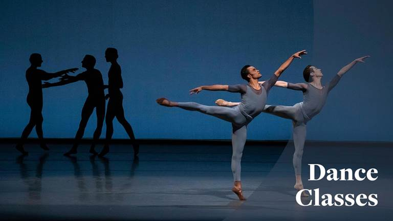 <p>Intermediate-Advanced Master Class with New York City Ballet</p>