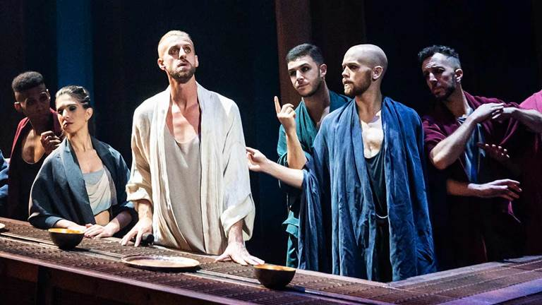 The company of the national tour of Jesus Christ Superstar