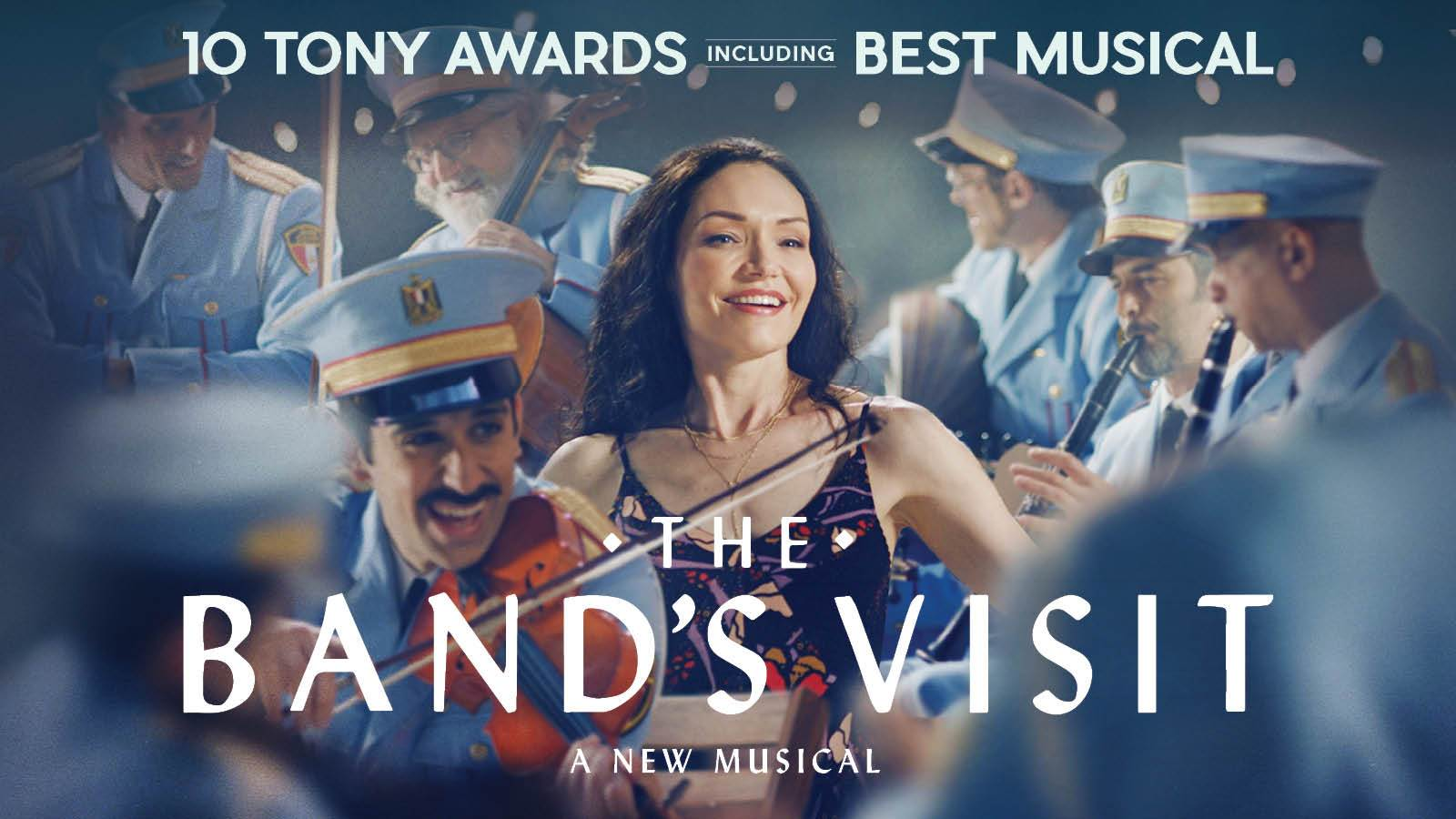 Best New Bands 2021 The Band's Visit   Kennedy Center